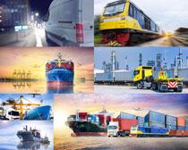 轮船与列车摄影高清图片