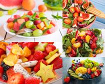 水果沙拉食物摄影高清图片