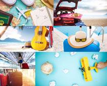 旅行计划用品摄影高清图片