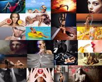 性感欧美模特女人摄影高清图片