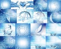 水效形状摄影高清图片