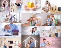 温馨家与夫妻摄影高清图片