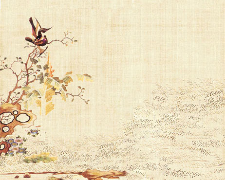 古代风景古典画PSD素材