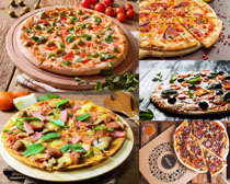 意大利披萨食物摄影高清图片