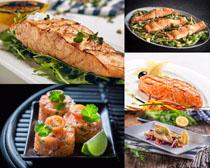 美食鱼肉摄影高清图片