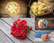婚礼上的玫瑰花摄影高清图片