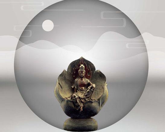 佛教文化艺术PSD素材