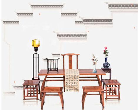 古典中国风家具PSD素材