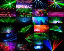 色彩激光舞台摄影高清图片
