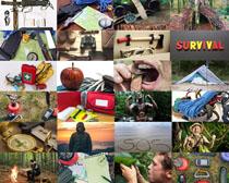 野外生存装备摄影高清图片