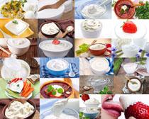 奶油食物摄影高清图片
