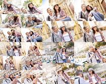 欧美开心情侣摄影高清图片
