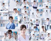 视力医生摄影高清图片