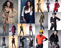 时装气质女模特摄影高清图片