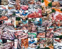 海鲜市场食材摄影高清图片