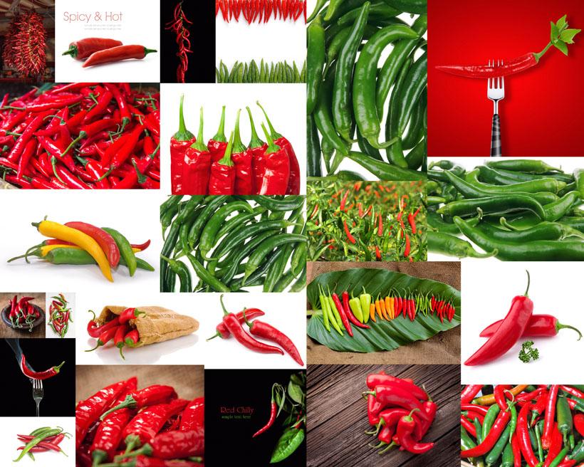 红辣椒摄影高清图片