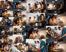 室内快乐青年人物摄影高清图片