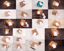 節日禮物包裝拍攝高清圖片
