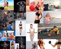 健身人物摄影高清图片