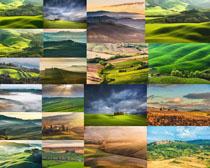 美丽的草原风光摄影高清图片