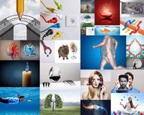创意与环保摄影高清图片