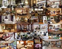 欧式风家庭装修摄影高清图片