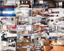 家庭厨房装修风格摄影高清图片