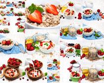 营养水果早餐摄影高清图片