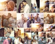 欧美浪漫夫妻摄影高清图片