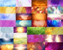 涂画色彩纹摄影高清图片