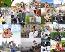 浪漫欧美情侣摄影高清图片