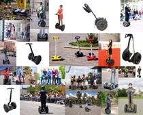 快速骑行工具摄影高清图片