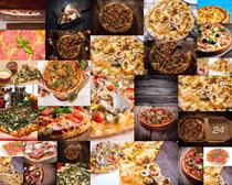 披萨美味食物摄影高清图片