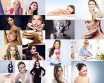 欧美脸部肌肤女子摄影高清图片