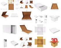 3D包装盒摄影高清图片