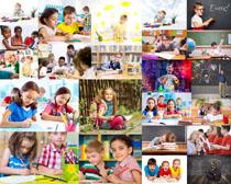 国外儿童学习摄影高清图片