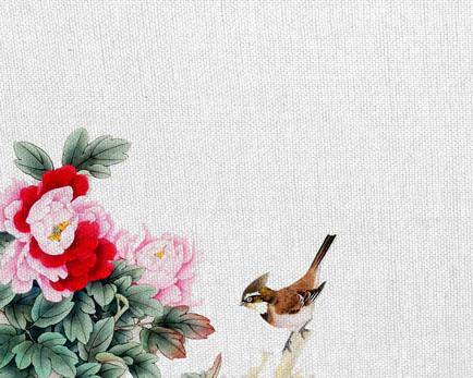 刺绣花朵鸟时时彩投注平台