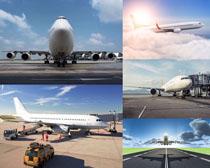 民航飞机摄影高清图片