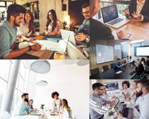 一起的商务团队人士摄影高清图片