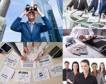 商务金融人士摄影高清图片
