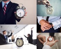 钟表与职业人士摄影高清图片