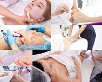 欧美SPA美女护理拍摄高清图片
