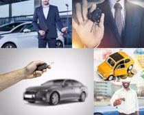 汽车与欧美男人摄影高清图片