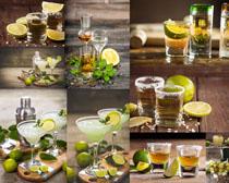 柠檬果汁饮料摄影高清图片