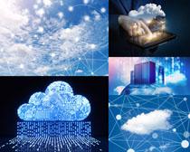 商务网络云服务摄影高清图片