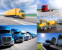 大型运输汽车摄影高清图片