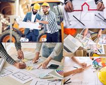 工程师建筑方案摄影高清图片