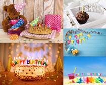 节日生日蛋糕摄影高清图片