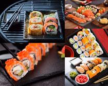 精美壽司食物攝影高清圖片