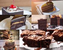 巧克力蛋糕摄影高清图片